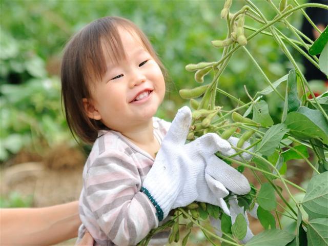 最優秀賞 (君津市長賞) 「農業体験デビュー」 立石康博